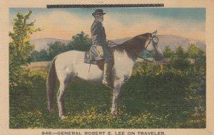 Portrait of General Robert E. Lee on Traveler, 1900-10s