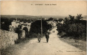 CPA  Carteret - Route du Phare  (632930)