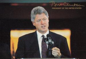 President Bill Clinton , 1990s