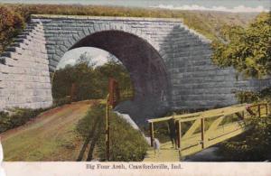 Indiana Crawfordsville Big Four Arch