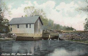 LAWRENCE , Massachusetts, 1901-07 ; Oldtide Mill , Merrimac Riverl