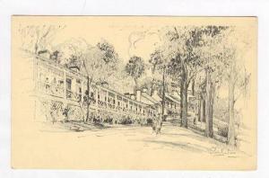 Alabama & Louisiana Rows, White Sulphur Springs,WV 1950-60s