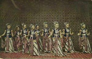 indonesia, JAVA SURAKARTA SOLO, Bedojo's Dancers of the Soenan (1910s) Postcard