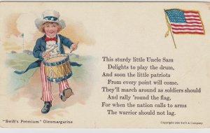 Swift's Premium Oleomargarine , Uncle Sam Boy & Flag , 00-10s