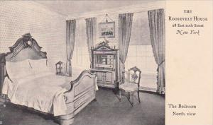 The Roosevelt House 28 East 20th Street The Bedroom North View  New York City...