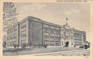Iowa Waverly High School Curteich