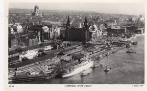 RP: LIVERPOOL , UK , 1930-40s ; River Front ;TUCK