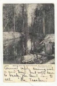 Waste way of Lake Graham, Red Springs, North Carolina, PU-1904