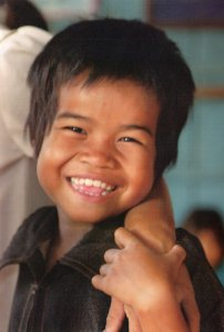 Cambodia Children Everychild Rare Charity Poverty London Postcard