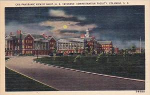 South Carolina Columbia Administration Building Panoramic View By Night U S V...