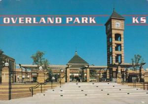 Kansas Overland Park The Clock Tower and Pocket Plaza 1998