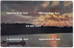 Sunset, Lake Manopac NY