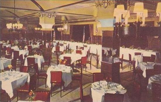 Pennsylvania Philadelphia Kugler's Restaurant English Room