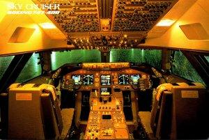 Japan Air Lines Boeing 747-400 Sky Cruiser Cockpit