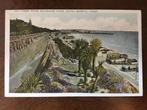 View from Palisades Park, Santa Monica, California. C3