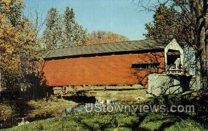 Dutch Country, Covered Bridge Lancaster PA Unused