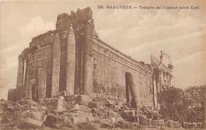 Lebanon Baalbeck - Temple de Jupiter (cote Est)