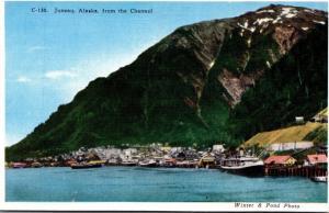 Alaska Juneau From The Channel