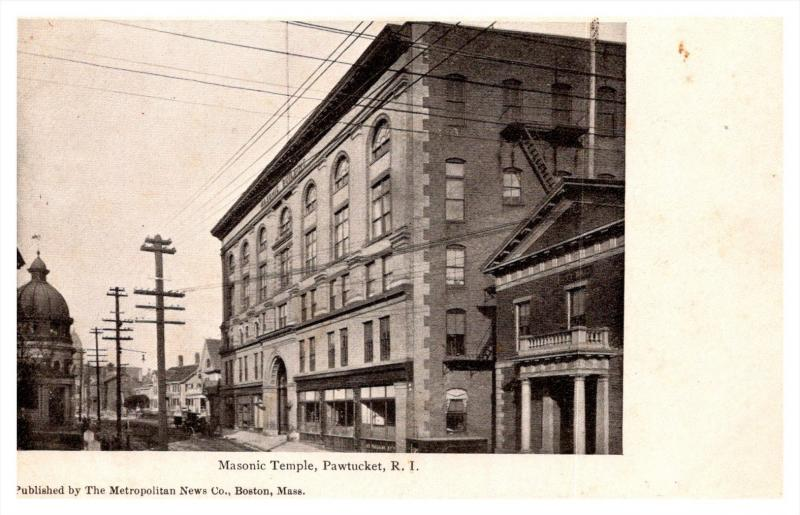 Rhode Island   Pawtucket  , Masonic temple