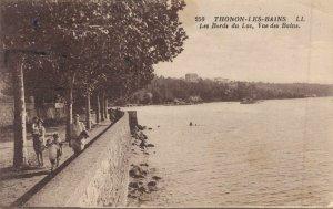 France - Thonon les Bains Postcards Lot of 12 Printed    01.02