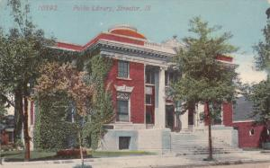 Public Library, Streator, Illinois, 1900-1910s