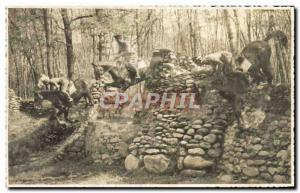 PHOTO CARD Monti Pinerolo Cavaliers Soldiers Miliaria