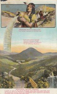 NUVIDA SPRINGS , California , 1909 ; Indian Girl