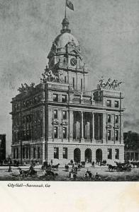 GA- Savannah- City Hall