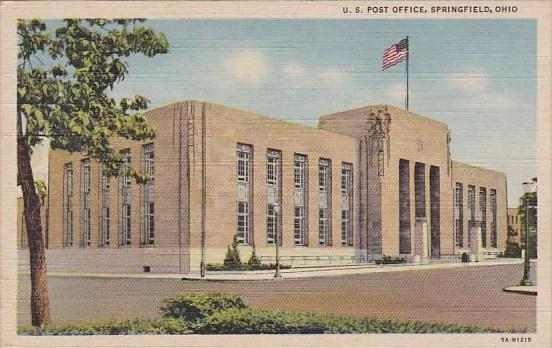 Ohio Springfield Us Post Office