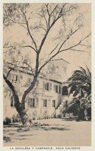 TIJUANA HOT SPRINGS, Mexico, 1920s; La Escalera Y Capanile, Agua Caliente