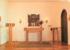 Religion Postcard Scandinavia church cathedral chapel altar organ Rio de Janeiro