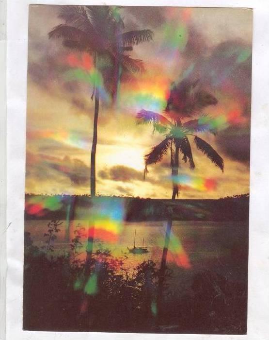 Sunset in Vava'u , TONGA, 50-70s