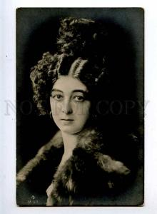 216008 SAHARET Vaudeville DANCER in Fur Vintage PHOTO PC