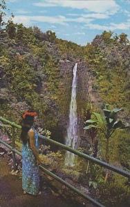 Hawaii Honolulu Akaka Falls