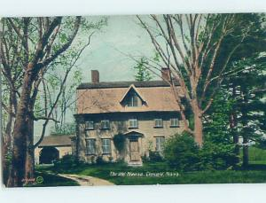 Divided-Back OLD MANSE Concord - Boston Massachusetts MA H6871