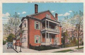 LEXINGTON , Kentucky, 1930-40s; Gen. Morgan's Home