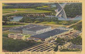 Glenn L. Martin Co. Aircraft Plant, Middle River, near Baltimore, Maryland, 1...