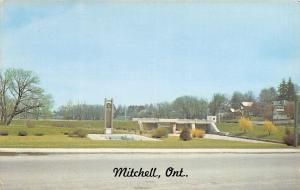 Mitchell Ontario Canada~Centennial Park~Dam & Bridge 1950s