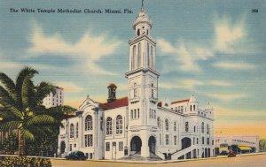 Miami , Florida , 30-40s ; White Temple Methodist Church