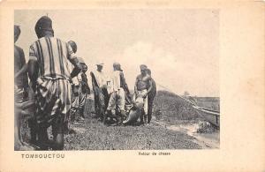 Mali Tombouctou, Retour de chasse, hunting