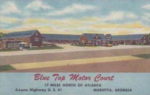 Georgia Marietta Blue Top Motor Court