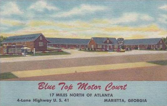 Georgia Marietta Blue Top Motor Court