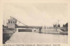 HUMBERSTONE , Ontario , Canada , 1930s , Lock 8 , Welland Canal