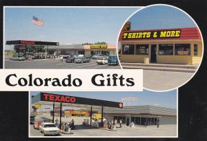 TEXACO Gas Station & Colorado Gifts, LIMON , Texas, 50-70s