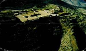 CE0858 mexico oxaca fortaleza fortress-like from mount alban ruins archeology
