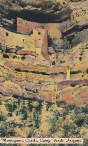 CAMP VERDE , Arizona , 30-40s ; Montezuma Castle