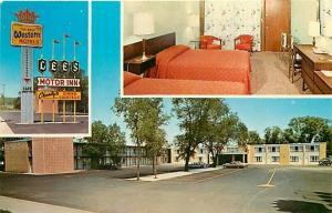 SD, Chamberlain, South Dakota, Lee's Motor Inn, Multi View, Dexter Press