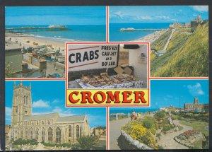 Norfolk Postcard - Views of Cromer     RR5108
