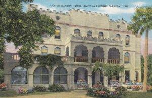 SAINT AUGUSTINE, Florida, 1930-40s; Castle Warden Hotel