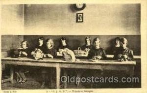 I.J.A.N. Tricots et lainages School for Blind & Deaf Postcard Postcards  I.J....